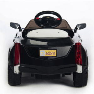 Electric Ride-on Children′s Toy Car- Remote Control Black pictures & photos