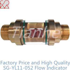 Threaded Brass Water Flow Indicator with Plastic Spinner pictures & photos