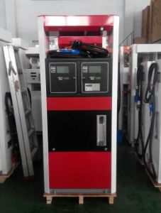 Zcheng Rainbow Filling Station Fuel Dispenser Double Nozzle Red&Black pictures & photos