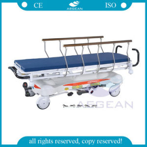 AG-HS001 Ce&ISO 4 Function American Hydraulic Patient Transport Stretcher pictures & photos
