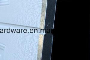 Full Vision Panel Industrial Door with Passdoor/Sectional Overhead Door pictures & photos