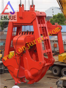 Four Rope Two Rope Clamshell Dredging Grab Bucket Dredged Grapple pictures & photos