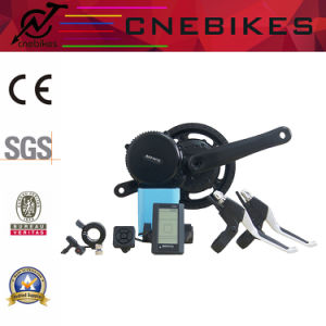 BBS01 36V 350W E Bike Conversion Kit with Colorful Display pictures & photos