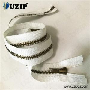 Heavy Duty Open Ended Zips for Coats / Zips for Sale / #5 Antique Brass Zipper