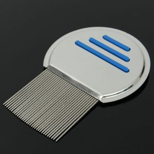 Stainless Steel Handle Head Nit Lice Comb pictures & photos