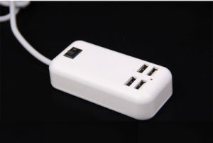 15W 3A USB Desktop Charger 4 Port USB Phone Charger pictures & photos