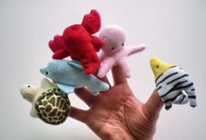 Cute Mini Plush Animal Finger Puppets pictures & photos