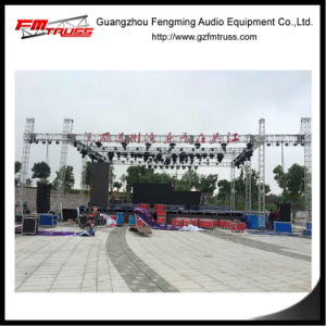 Line Array Sound Tower Stand with 2 Wings Truss Structure pictures & photos