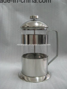 French Coffee Press and Cup Set for Scented Tea pictures & photos