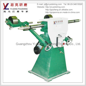 Flat Polishing Double Heads Abrasive Belt Grinder / Grinding Machine Specifications pictures & photos