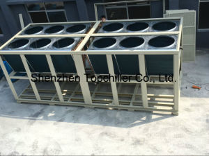 50ton Air Cooled Screw Chiller with Semi Hermetic Hanbell Bitzer Compressor pictures & photos