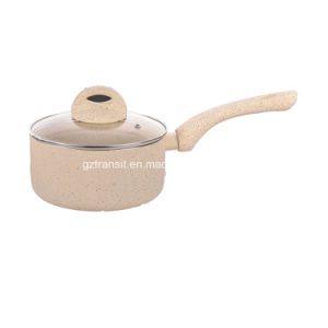 New Marble Coating Pressed Aluminum Frying Pans pictures & photos