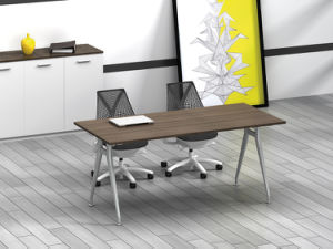 White Customized Metal Steel Office Conference Desk Frame with Ht22 pictures & photos