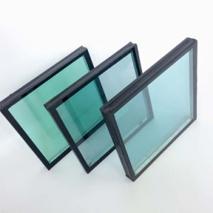 Double Glazed Igu Acoustic Hollow Panel Glass pictures & photos