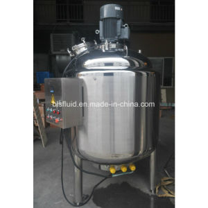 Heating Double Jacketed Milk Ice Cream Mix Pasteurizer pictures & photos