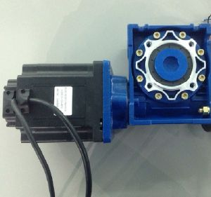 86mm Brushless DC Worm Gear Motor, with Nmrv 050 Gearbox