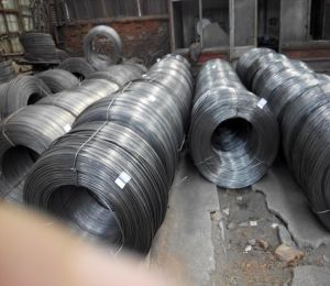 Q195 Hard Drawn Wire & Nail Making Raw Material pictures & photos
