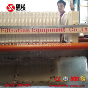 High Pressure Low Moisture Industry Round Type Filter Press Machine pictures & photos