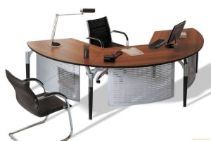Modern MFC Laminated MDF Wooden Office Table (NS-NW991) pictures & photos
