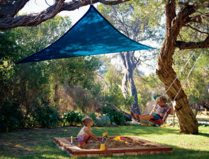Colorful UV Solution Shade Sail pictures & photos
