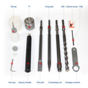 Demolition Hammer/Electric Demolition Hammer 1050W 38mm (HD015) pictures & photos