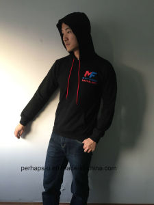Cool Mens Cotton Hoodie with Custom Print Logo pictures & photos