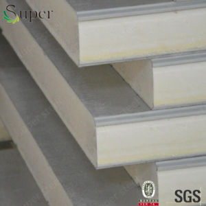 Cheap Fireproof Insulation Board Polyurethane Sandwich Panel for Clean Room pictures & photos