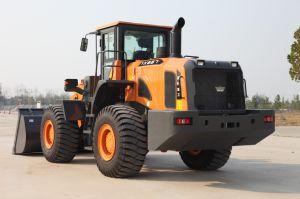 6 Ton Front Wheel Loader Chinese Brand Ensign Yx667 with Weichai Engine, Joystick and 3.5 M3 Bucket pictures & photos