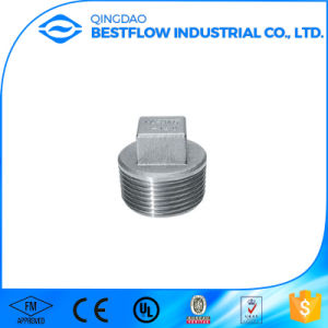 304 Stainless Steel Screw Thread Pipe Fittings pictures & photos