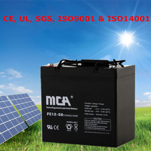 Solar Power Battery Backup 12V Deep Cycle Batteries with 5-Year Warranty pictures & photos