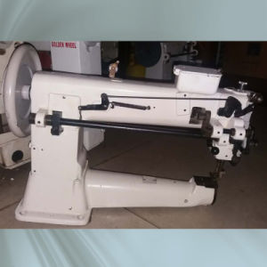 Used Golden Wheel Thick Material Single Needle Unison Feed Cylinder-Bed Sewing Machine pictures & photos