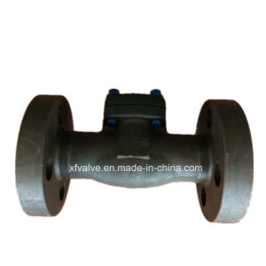 1500lb 2500lb Forged Steel A105 Flange Connection End Check Valve pictures & photos