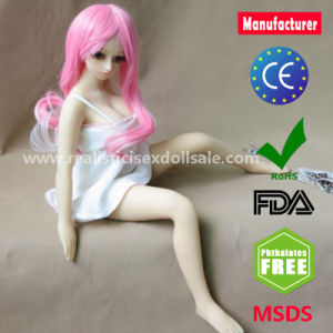 New Top Quality Black Silicone Sex Dolls 65cm Japanese Lifelike Love Doll pictures & photos