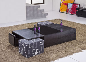 Coffee Table with Small Sofa Set Home Furniture (CJ-M043) pictures & photos