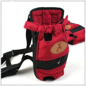 Dog Carrier Fashion Red Color Travel Dog Backpack Breathable Pet Bags Shoulder Pet Puppy Carrier pictures & photos