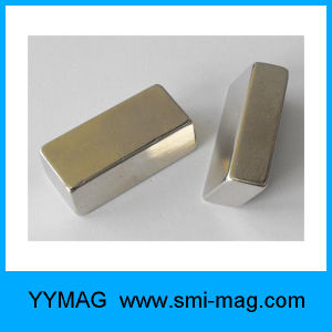 Sinter Neodymium Permanent Rare Earth Block Magnet pictures & photos