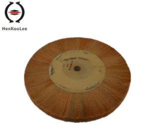 Non Woven Polishing Flap Wheel (Yellow Colour) pictures & photos