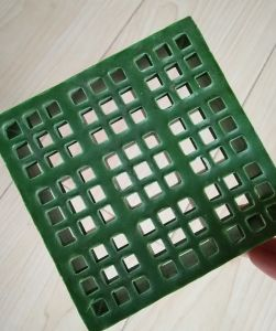 FRP/GRP Products, Fiberglass Mini Mesh Surface Gratings pictures & photos