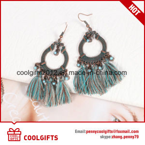 New Design Jewelry Vintage Round Tassel Earrings for Party pictures & photos
