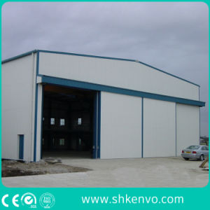 Industrial Manual or Electric Automatic Thermal Insulated Sliding Door with Small Wicket Door pictures & photos