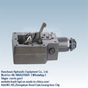 Guangzhou Promotion Mini Excavator Hydraulic Control Valve (PV20/21/22/23) pictures & photos