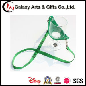 Promotioanl Gifts 15mm Custom Printed Polyester Wine Holder Lanyard pictures & photos