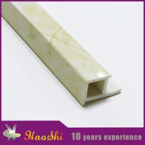 PVC Tile Edging Trim Profiles with Marble Colour pictures & photos
