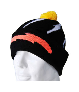 China Supplier for Fashion Design Sports Knitted Beanie Hat (K0028)