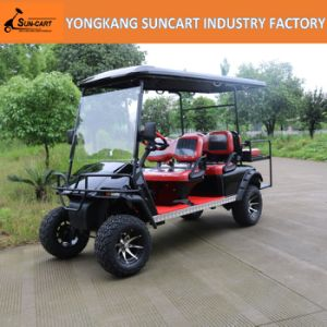 6 Seaters Gas Powered Golf Cars pictures & photos
