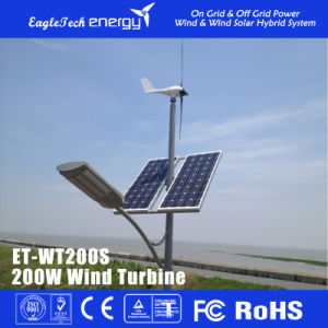 200W Wind Solar Turbine Generator Supply for Streetlight Wind Power System pictures & photos