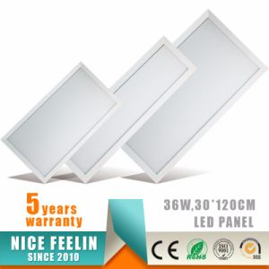 120lm/W 30X120cm 36W Recessed/Hanging LED Panel Light with 5years Warranty pictures & photos