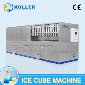 Commercial Cube Ice Machine with Packing System and PLC Control System for Ice Plant 10 Tons/Day pictures & photos