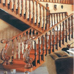 Wholesale Foshan Custom Made Wooden Guardrail for House Design pictures & photos
