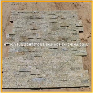 Yellow/Black/White Culture Stone for Wall Cladding pictures & photos